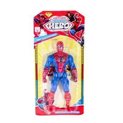 Супергерой СП, 19см, свет, подвижн.руки и ноги, на