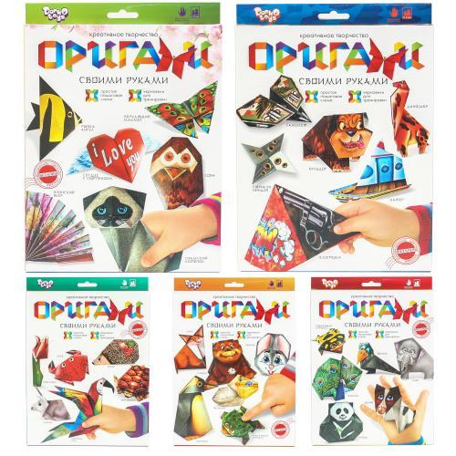 """Набір для творчості """"Оригами"""" (20), ДТ-ОО-09-51"""