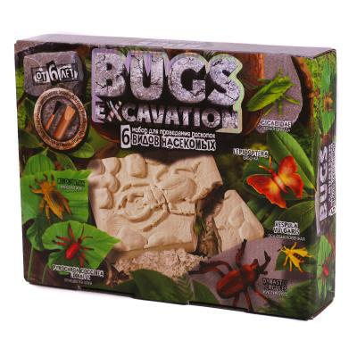 """Набор проведения раскопок""""BUGS EXCAVATION"""" жуки"""