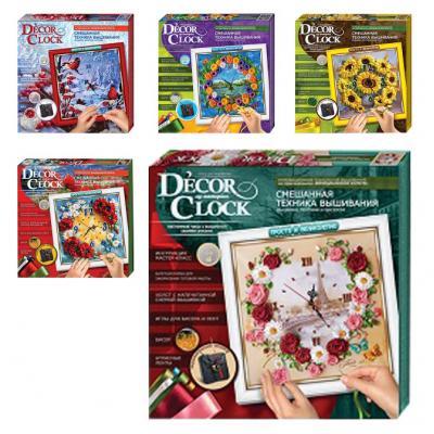 """Часы """"Decor Clock"""", в кор. 33*33см (10 шт.)"""