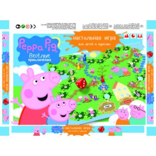 """Игра наст. малая """"Peppa Pig"""", в кор. 36*25*3см (20, Ф-00005379"""