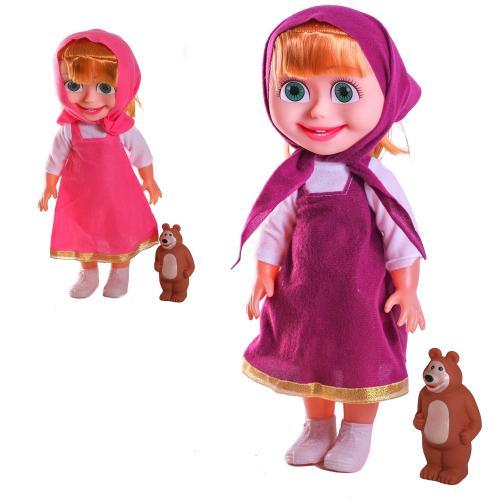 Кукла Маша (42см)+Миша (8см) 2 вида, 76-A