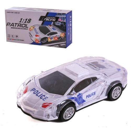 3D Машинка свет + музыка Полиция, 012