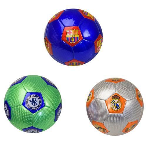 Мяч футбол FB190309 (30шт) №5, 320 грамм, 3 цвета, FB190309