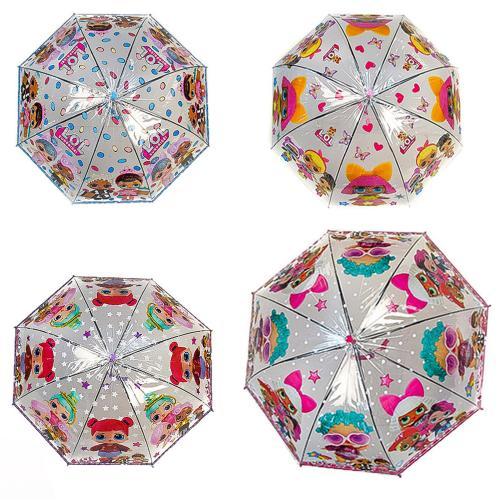 "Зонт ""L"" CEL-404 (60шт/5) 4 видов, прозрачная клее, CEL-404"