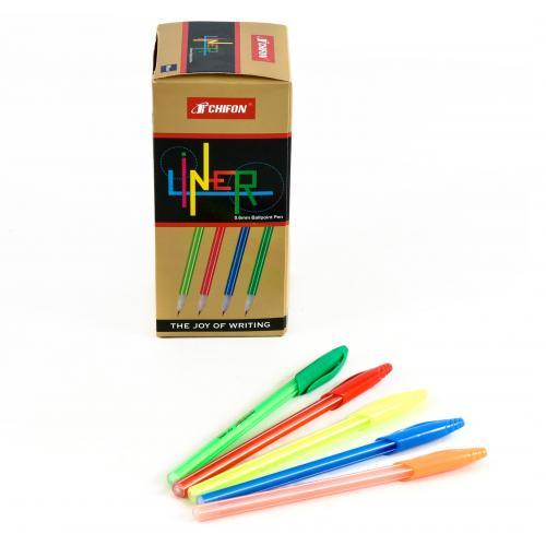 """Ручка """"Liner"""", синяя (50 шт/ уп), HMZ-8307"""