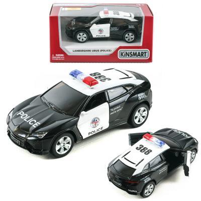 Машинка металлическая инерционная, полиция