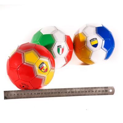 Мяч футбольный размер 2, мини, ПВХ, 150г, страны