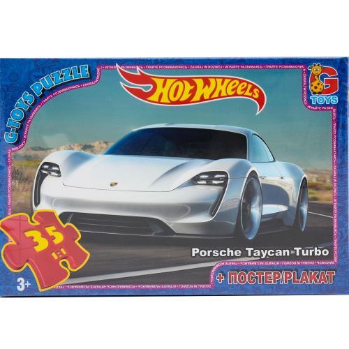 "Пазли ТМ ""G-Toys"" із серії ""Hot Wheels"", 35 ел., GP-FW728"