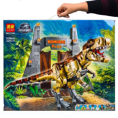 Toys Bricks Set: парк Юрского периуда 3156 деталей