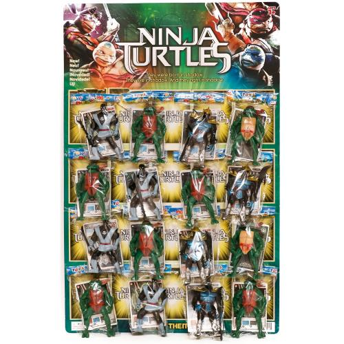 "Герої мультф. ""Ninja Turtles"" (планшет, 16шт.) 093, 09314"
