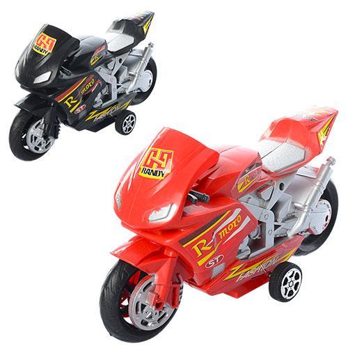Мотоцикл инер-й, 2 цвета, в кульке, 20-12-6см, 111-3M