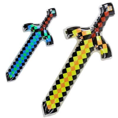 """Надувной меч F 21656 (960) """" Minecraft"""" 2 цвета, 62"""