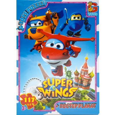 """Пазлы из серии """"Super Wings"""", 117 элементов"""
