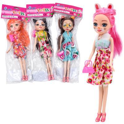 Кукла CH2200 (150шт) EN, 24см, сумочка, 4вида, в к