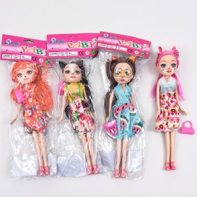 Кукла CH2200 (150шт) EN, 24см, сумочка, 4вида, в к, CH2200