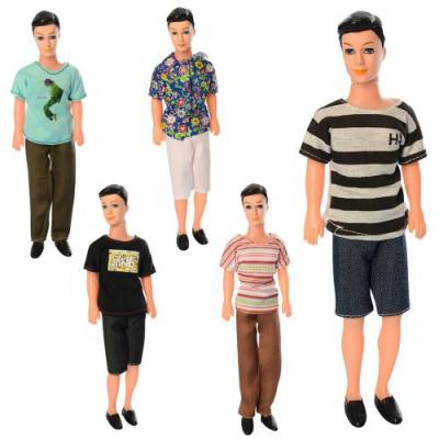 Кукла A007-2 (180шт) Кен, 30см, 5 видов, в кульке, A007-2