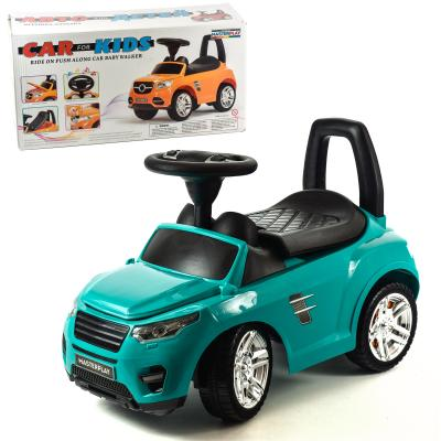 Детская машинка-каталка (бирюза)