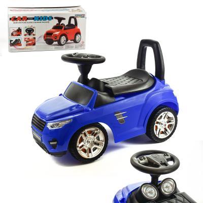 Детская машинка-каталка (синий)