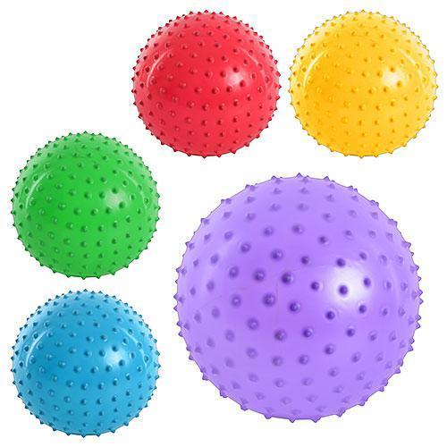 Мяч массажный 5 цветов, MS 0022