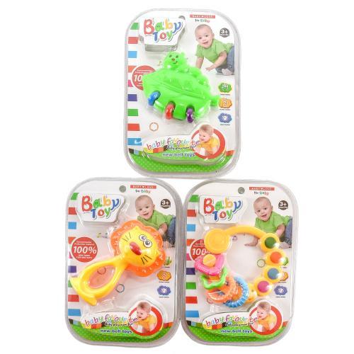 """Прорезыватель BabyToy """"Фигурки"""", 536-008"""