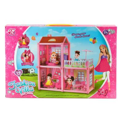 Вилла с куклой (3 комнаты)