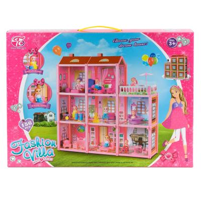 Вилла с куклой (8 комнат)
