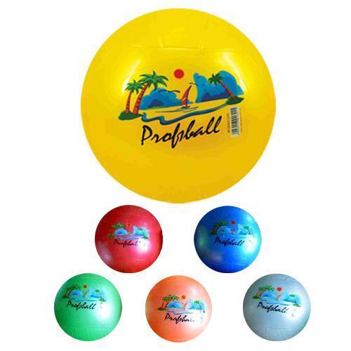 """Мяч детский-9"""" PROFIBALL, 4 цвета, M 0243"""