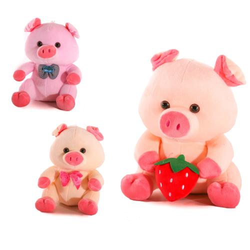 Мягкая игрушка MP 1728 (48шт) свинка, размер средн, MP 1728
