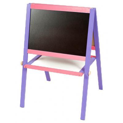 Мольберт 50*40 фиолетово-розовый