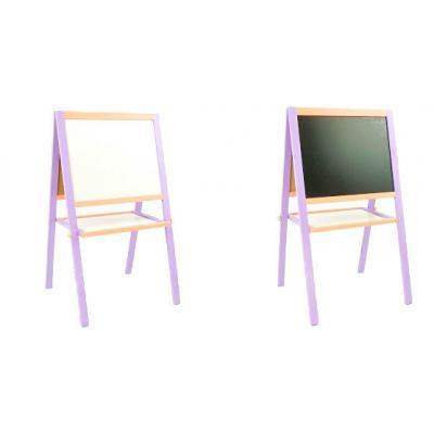 Мольберт 50*40 фиолетово-оранжевый
