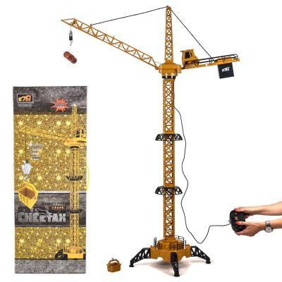 Кран башенный на дистанционном управлении