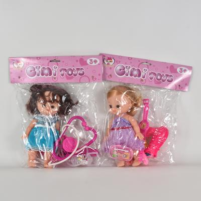 Кукла с набором доктора, K0002