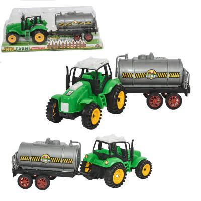 Трактор с бочкой