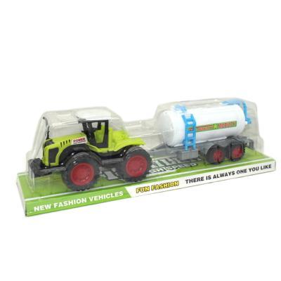Трактор с цестерной