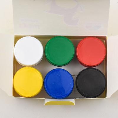 Краски гуашевые, 6 цветов (цена за упаковку), GA-100201