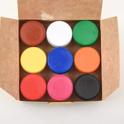 Краски гуашевые 9 кол/10 мл, Малыши, GA-100202