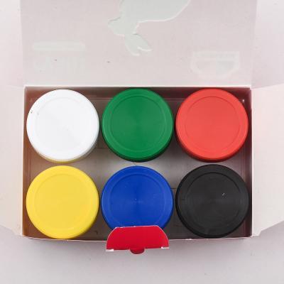 Краски гуашевые 6 кол/20 мл, Захват, GA-200201