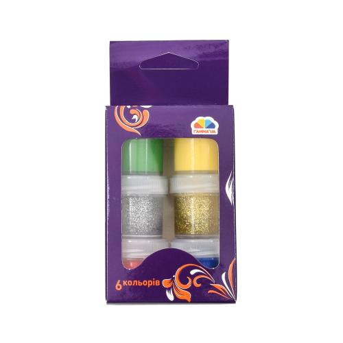 Краски гуашевые, 6 цветов (цена за упаковку), GA-400202