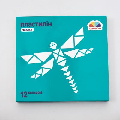 Пластилин, 12 цветов (цена за упаковку), GA-300304