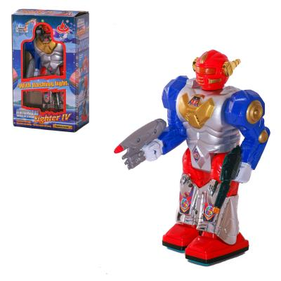 Робот 28052 (60шт) 22-12-6см, ходит, звук, свет, н