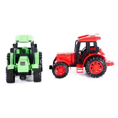 Трактор инер-й, 2 цвета, в кульке, 16,5-10-9см