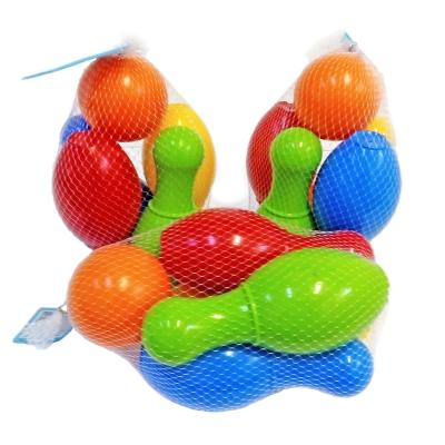 Набор для игры в боулинг 4 кегли+шар, Техно 4708