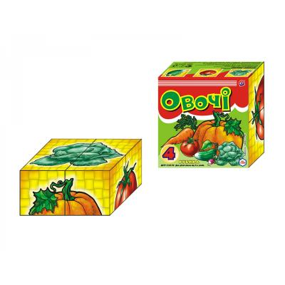 Кубики овощи