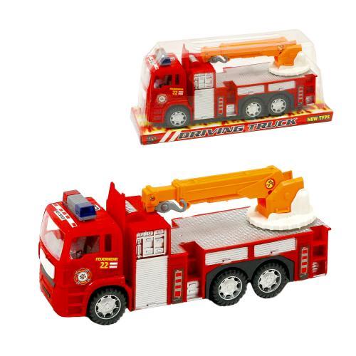 Пожарная машина, инерционная, 689-103