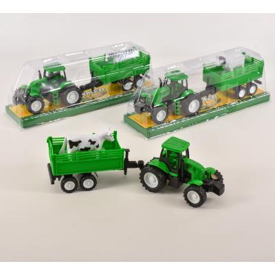 Трактор инерционный с прицепом, 798-A33