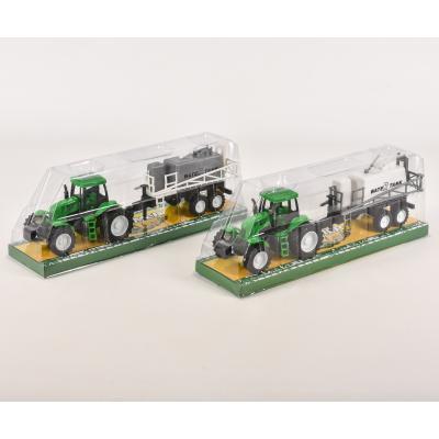 Трактор инерционный с прицепом, 798-A16