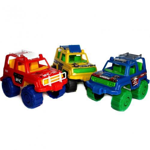 """Детская машинка """"Джип цветной"""", МГ 114"""