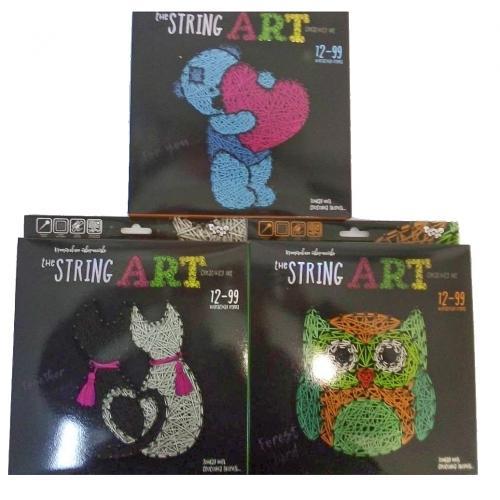 """Креативн.творч.""""The STRING ART""""рус, ДТ-ОО-09166"""
