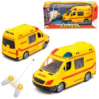 Микроавтобус почтовой службы DHL на радио управлен